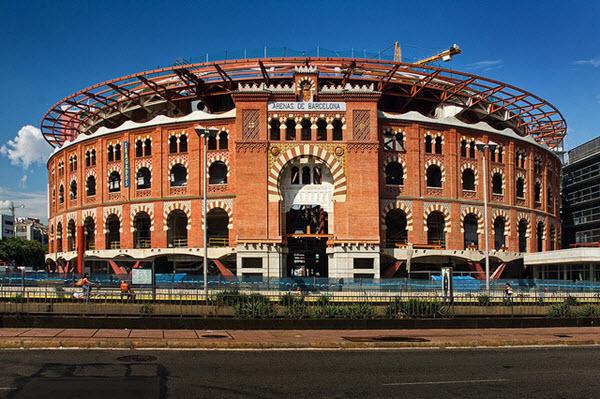 shopping à barcelone : las arenas