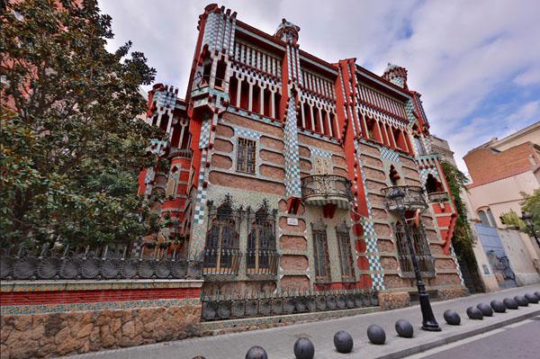 gaudi barcelone Casa Vicens