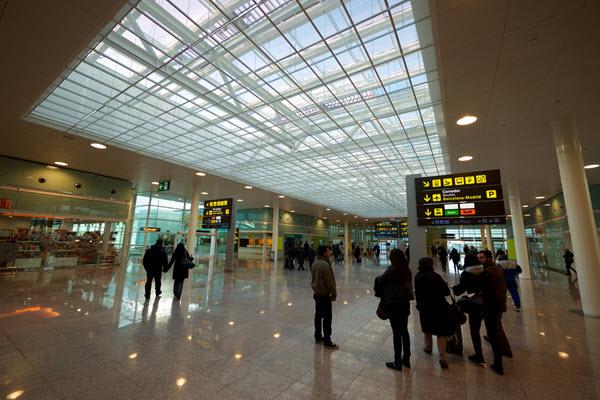 El Prat aeroport Barcelone