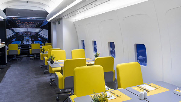 restaurant insolite avion