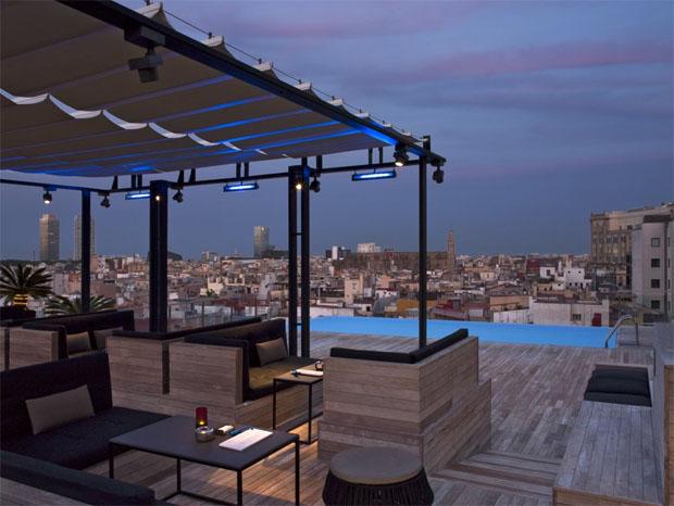 Grand Hotel Central terrasse
