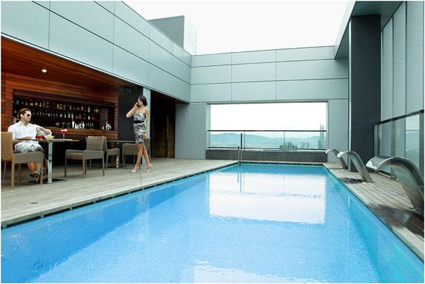 Le SB diagonal Zero piscine 2