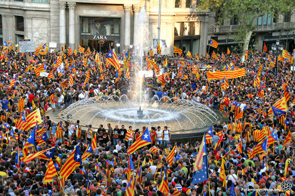 barcelone fete nationale