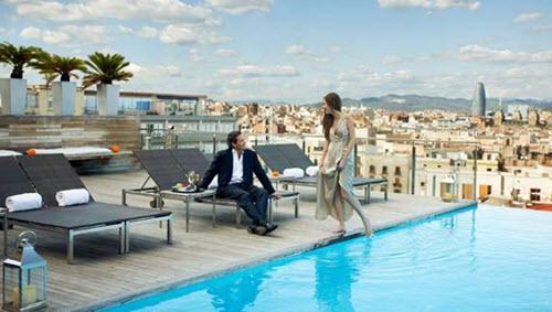 bars rooftop de Barcelone 2