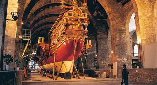 Le Musée maritime de Barcelone